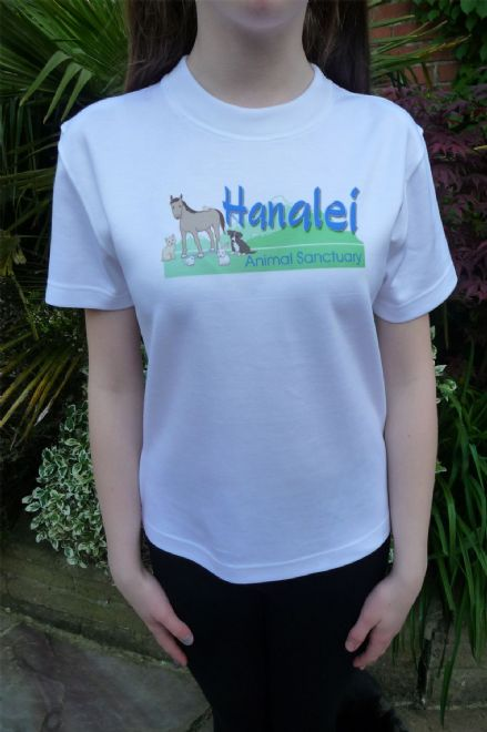 HANALEI ANIMAL SANCTUARY LADIES SKINNY FIT T SHIRT